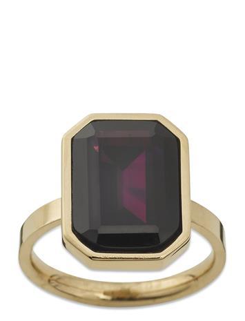 Edblad Grand Ring Plum Gold Sormus Korut Kulta Edblad GOLD