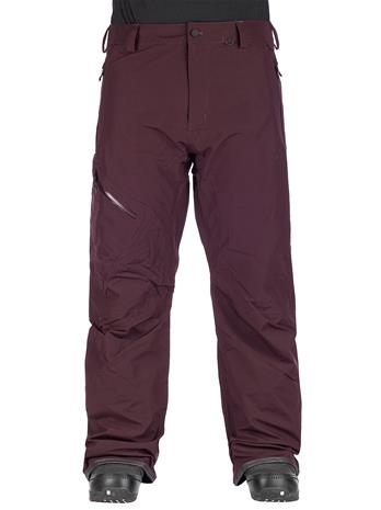 Volcom L Gore-Tex Pants black red Miehet
