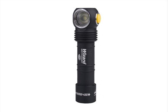 Armytek Wizard Pro v3 XHP50 Rechargeable Flashlight Magnet-USB, black