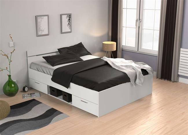 Sänky Michigan 140X200cm, valkoinen