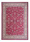 KOODI Edirne -viskoosimatto, tummanpunainen, 140 x 200 cm