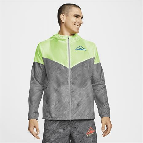 Nike M NK WR JKT HD TRAIL PARTICLE GREY