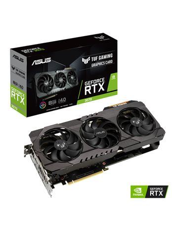ASUS GeForce RTX 3070 TUF Gaming 8 GB, PCI-E, näytönohjain