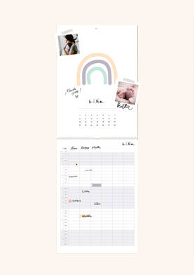 Oot niin ihana - perhekalenteri 2021