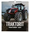 Suomen Aika Traktorit 2021 iso seinäkalenteri