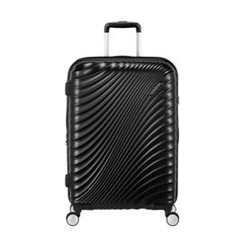 Ametican Tourister Jetglam Spinner -matkalaukku, iso, musta