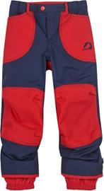 Finkid Tobi Rain Pants Boys, navy/red
