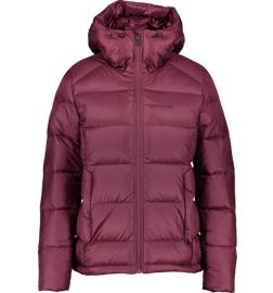 Everest W EXPEDITION DOWN JACKET WINE RED