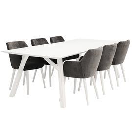 Dimensio, Fine Pöytä ja 6 tuolia