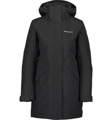 Peak Performance W SIZ JACKET BLACK/LIGHT GREY