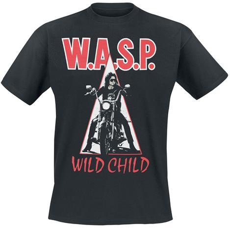 W.A.S.P. - Wild Child - T-paita - Miehet - Musta