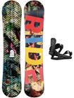 Ride Machete Jr 148 + K1 M 2021 Snowboard Set black