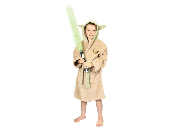 Star Wars Yoda lasten fleecekylpytakki