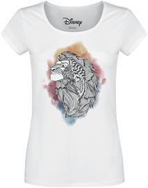 Leijonakuningas - Simba - Lion Ink - T-paita - Naiset - Valkoinen