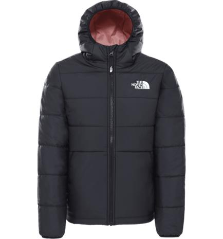 The North Face G REVERSIBLE PERRITO JACKET TNF BLACK/PINK CLA