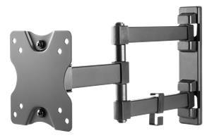 "Deltaco ARM-1204, tv-seinäteline 13-27"", max 20 kg"