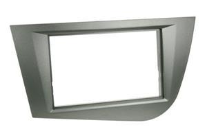 Seat Leon 2005-2010 2DIN sovite, harmaa