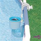 Intex Seinäkiinnitettävä uima-altaan pintapuhdistin Deluxe