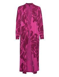 Nanso Ladies Dressing Gown, Hely Aamutakki Vaaleanpunainen Nanso PINK, Naisten alus- ja yöasut, sukat sekä kylpytakit