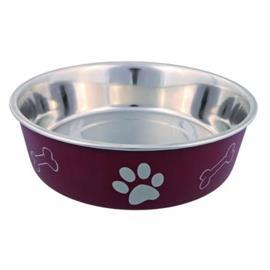 TRIXIE ruostumattomasta teräksestä valmistettu kulho koirille