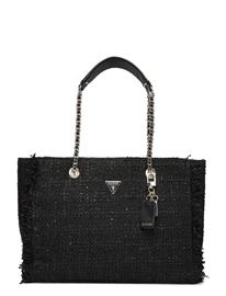 GUESS Cessily Tote Shopper Laukku Musta GUESS BLACK