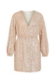 Vila Paljettimekko viLyc L/S Short Dress