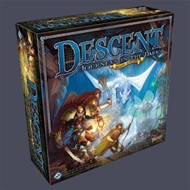 Descent: Journeys in the Dark Second Edition, lautapeli
