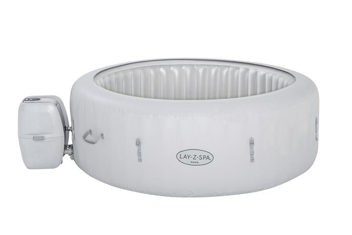Bestway Lay-Z-Spa Paris AirJet Poreallas, White