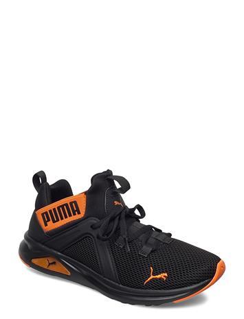 PUMA Enzo 2 Weave Jr Shoes Sports Shoes Running/training Shoes Musta PUMA PUMA BLACK-DRAGON FIRE