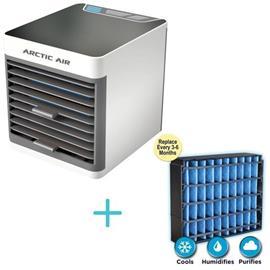 Tvins Arctic Air Ultra R222078 ilmanjäähdytin, valkoinen + Arctic Air Ultra suodatin