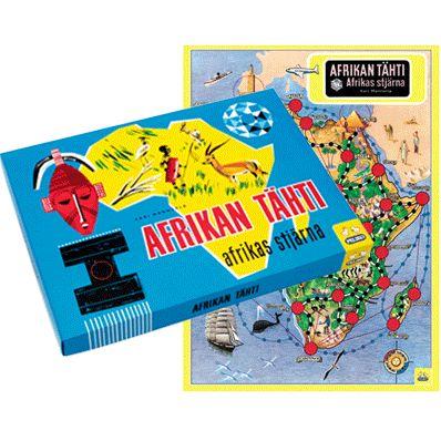 Afrikan tähti, lautapeli