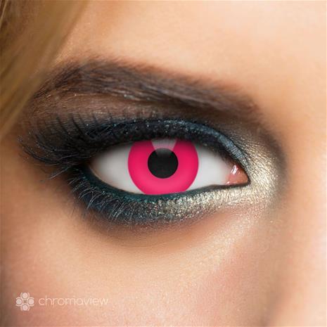 Chromaview - Red UV, erikoistehostepiilolinssit 2 kpl