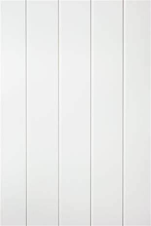 Paneeli MDF Variation Valkoinen 10 x 154 x 2600