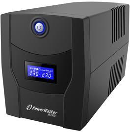 PowerWalker Basic VI 1500 STL FR (10121082) 1500VA Type E, UPS-laite