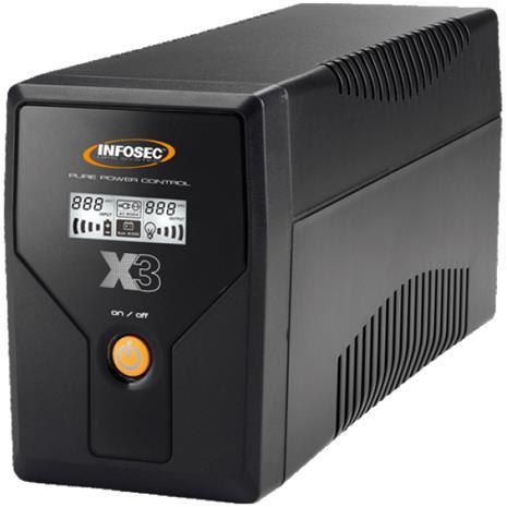 Infosec X3 EX LCD USB 650, taajuusmuuttaja