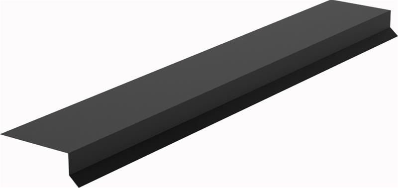 Räystäslista JanLa Musta 50 x 140 x 2500 mm