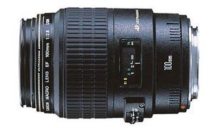 Canon EF 100mm f/2.8 USM Makro, objektiivi