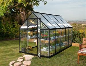 Palram Hybrid, kasvihuone 5,7 m² (185 x 310 cm)