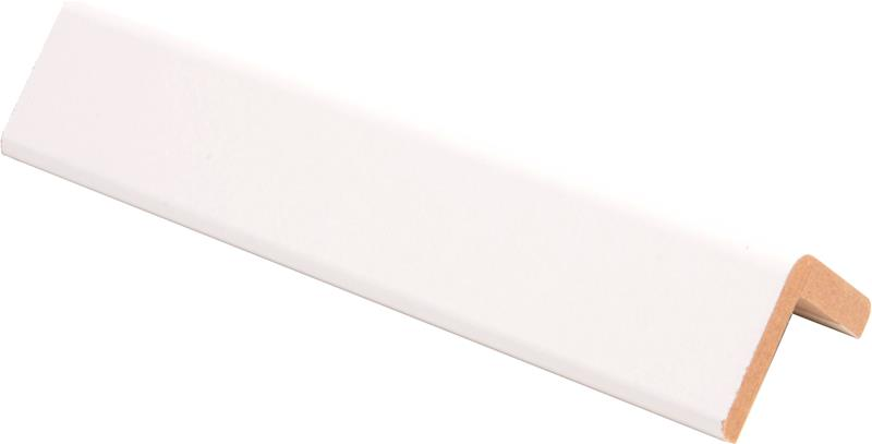 Reunalista Maler 32 x 32 / 28 x 2800 mm HDF valkoinen