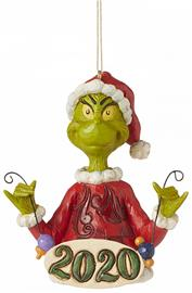 Grinch - Grinch 2020 Christmas Bauble - Joulupallo - Unisex - multicolor