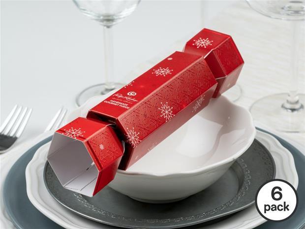 Fudge Kitchen Christmas Crackers 6-pack