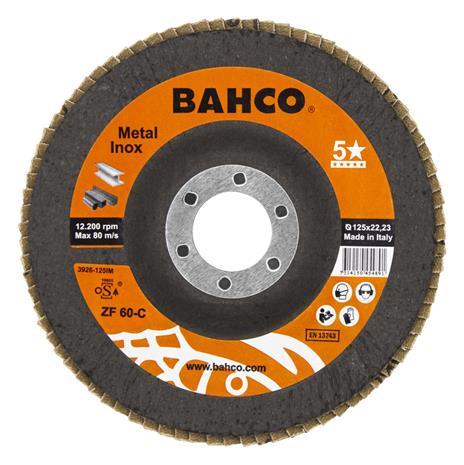 Lamellihiomalaikka Bahco Inox&Metal; 125 mm; C80