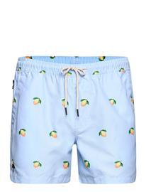 OAS Blue Lemon Swim Shorts Uimashortsit Sininen OAS BLUE
