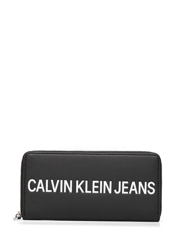 Calvin Klein Zip Round Bags Card Holders & Wallets Wallets Musta Calvin Klein BLACK