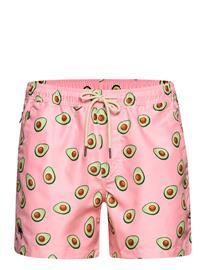 OAS Avocado Swim Shorts Uimashortsit Vaaleanpunainen OAS PINK