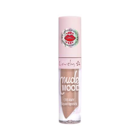 Lovely Nude Mood Creamy Liquid Lipstick (New Edition) huulipuna 1 tk, sävy 2