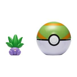 Pokemon - Clip'N Go - Oddish + Nest Ball (PKW0006)