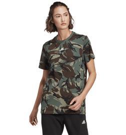 Adidas W CAMO TEE LEGACY GREEN