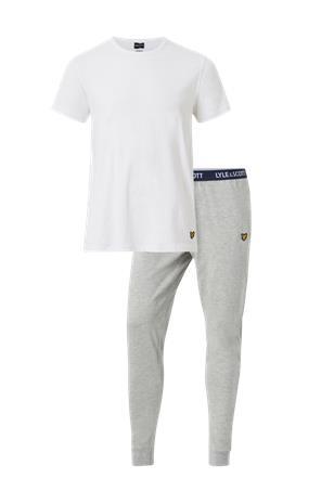 Lyle & Scott Pyjama Cuffed Lounge Pant & Short Sleeve Tee