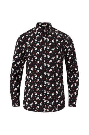 jack & jones Kauluspaita jorSnowjoy Shirt LS, slim fit